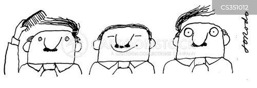 baldy cartoon
