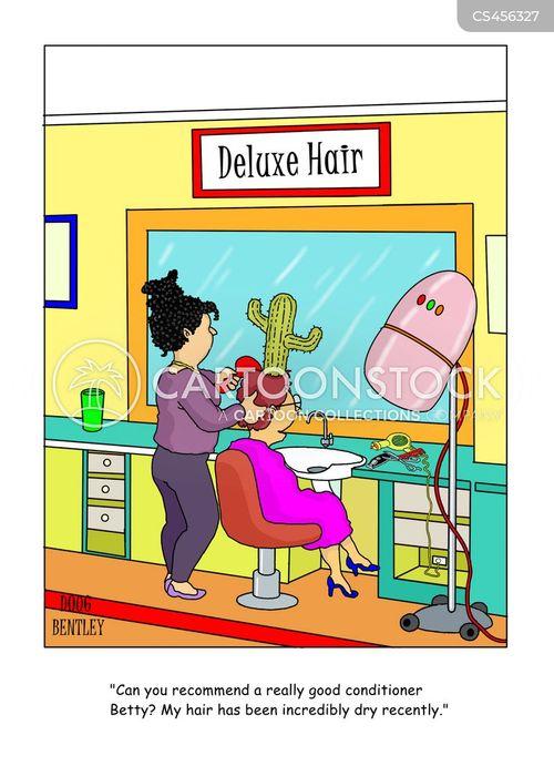 beauticians cartoon
