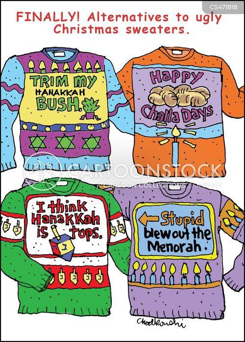 0c096238b Hanukkah Sweaters Cartoons and Comics - funny pictures from CartoonStock