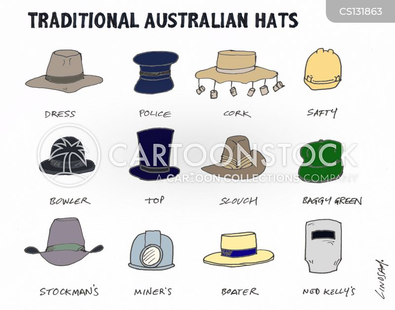 australian stereotype cartoon