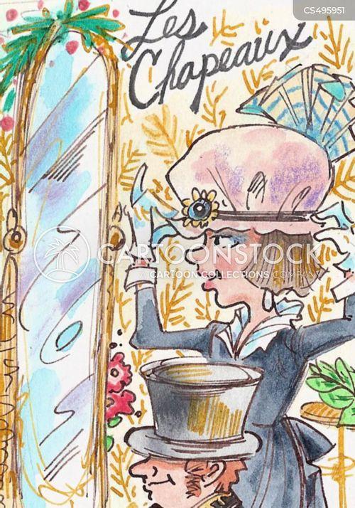 french fashion cartoon