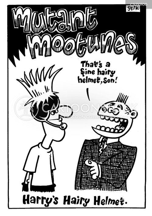 head wear cartoon