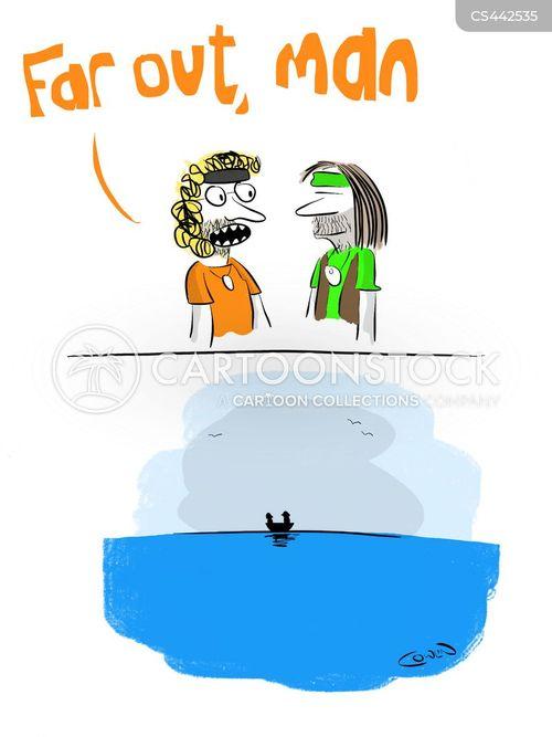 cast adrift cartoon
