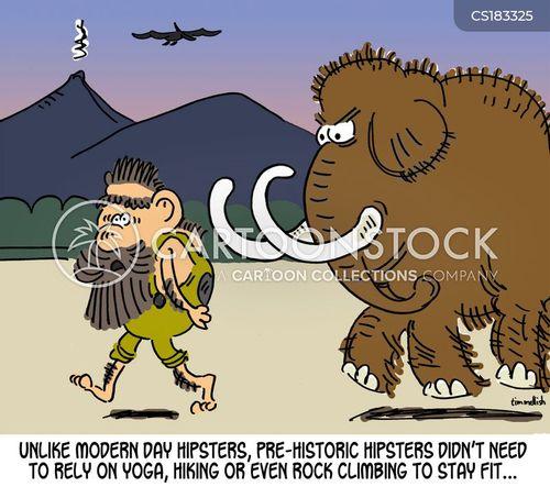 hipster culture cartoon