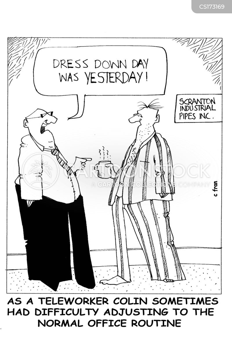 Dress Down Cartoons and Comics - funny pictures from CartoonStock