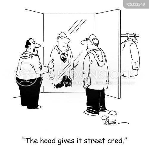 street cred cartoon