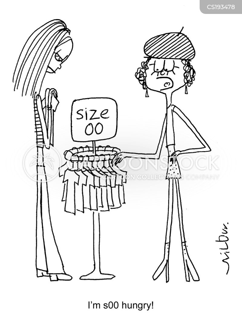 clothes sizes cartoon