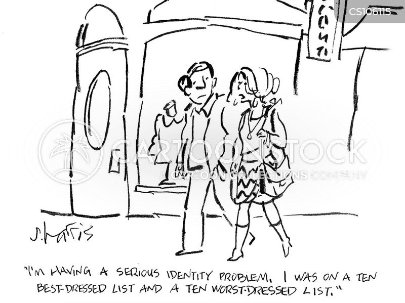 identity problems cartoon