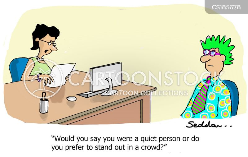 extrovert cartoon