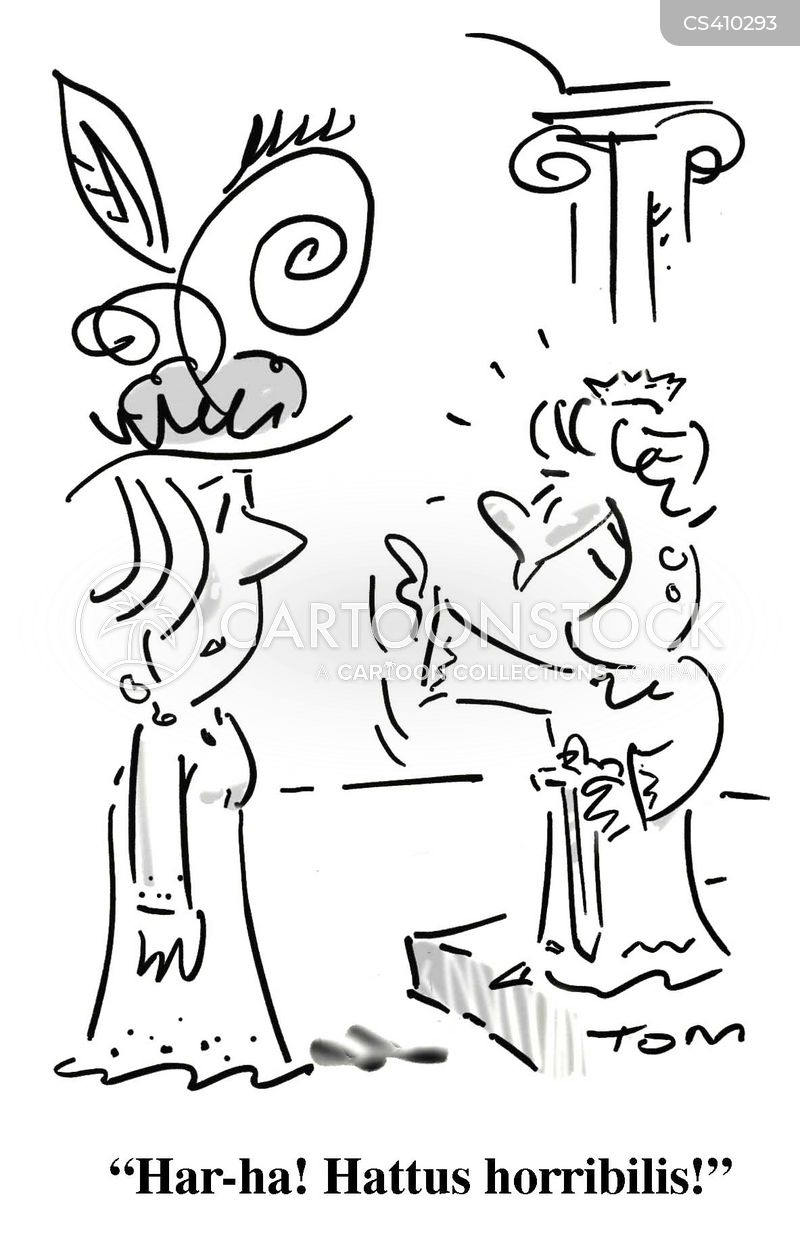 ceremonial cartoon