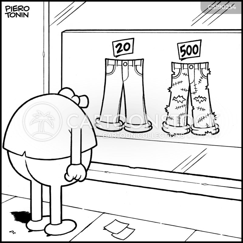 fashion victims cartoon
