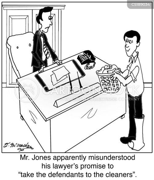 laundromat cartoon