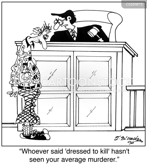 dress to kill cartoon