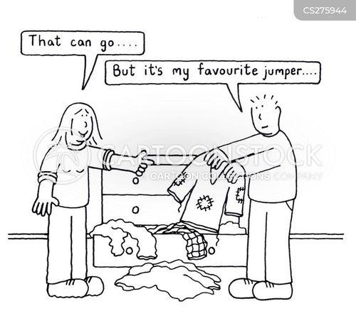 comfy clothing cartoon
