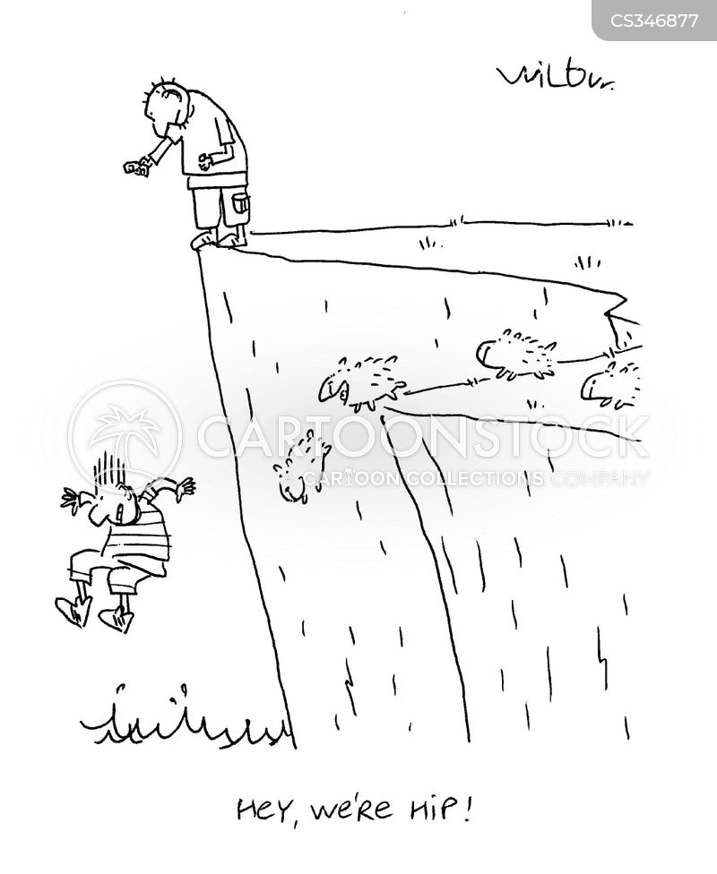 Cliff Diver Cartoons And Comics Funny Pictures From