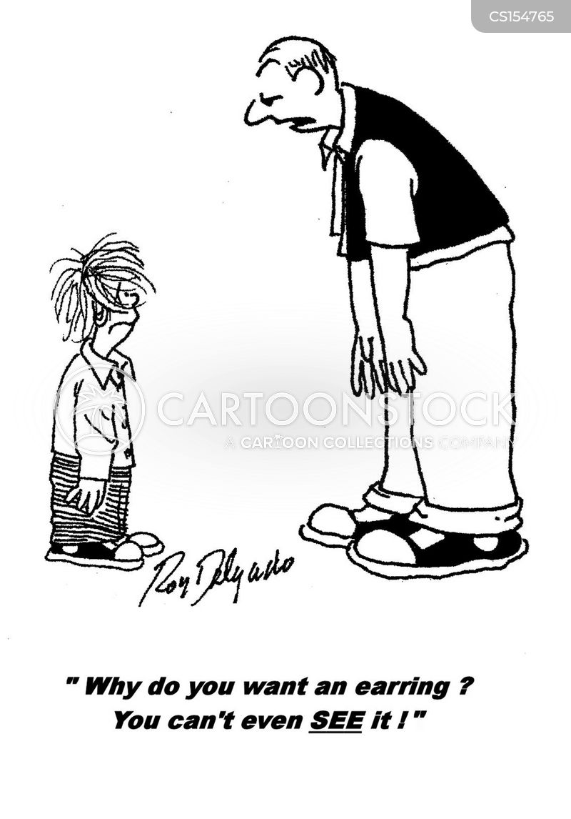 Ear Piercing Cartoons And Comics  Funny Pictures From