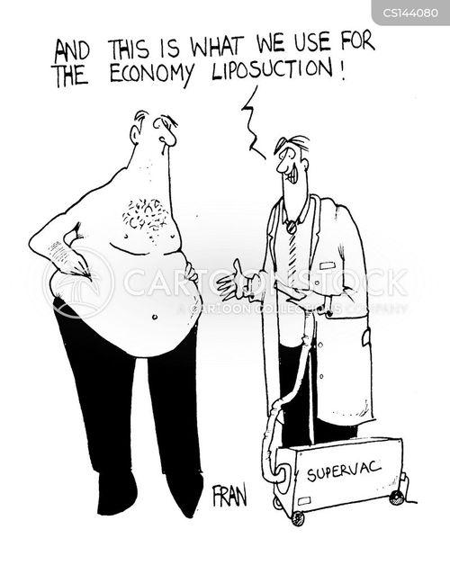 liposuction cartoon
