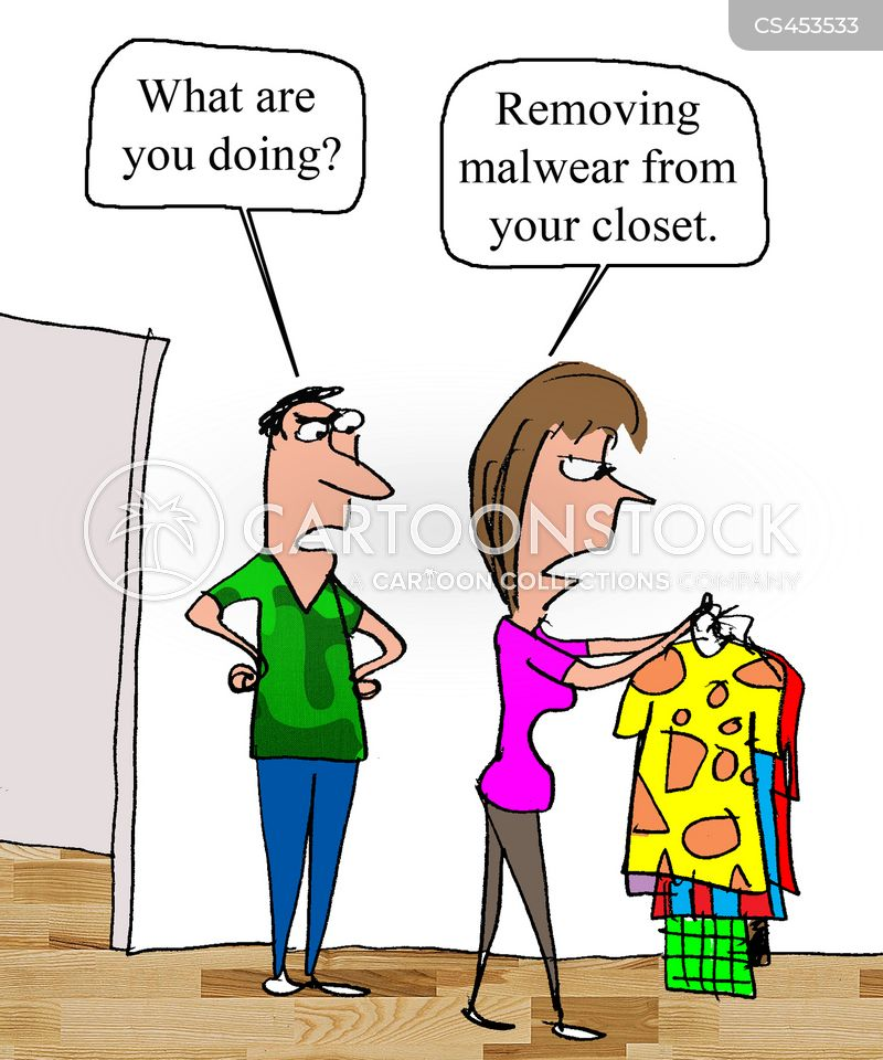 fashion disasters cartoon