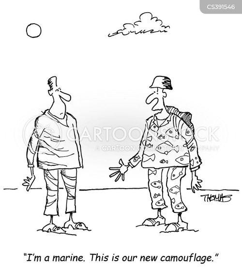 armed services cartoon