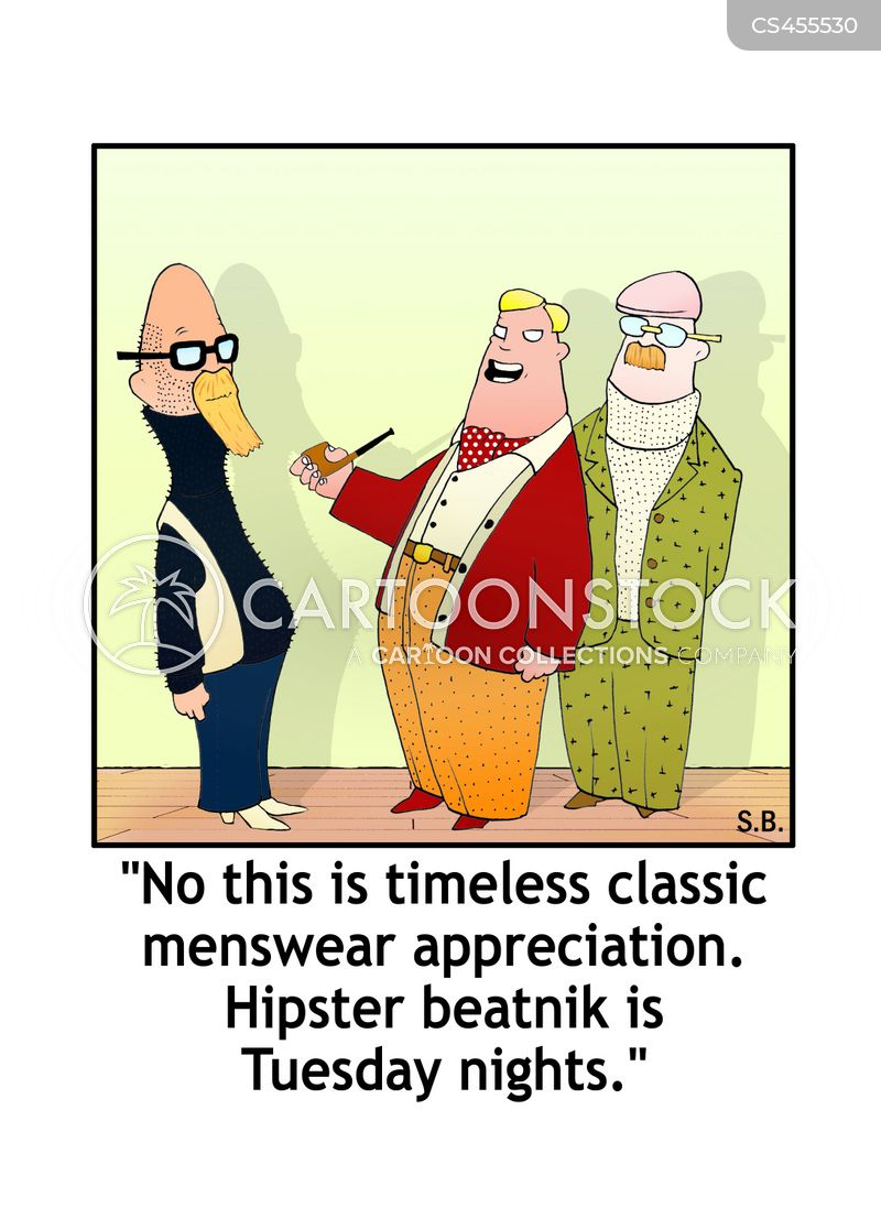 mens clothes cartoon