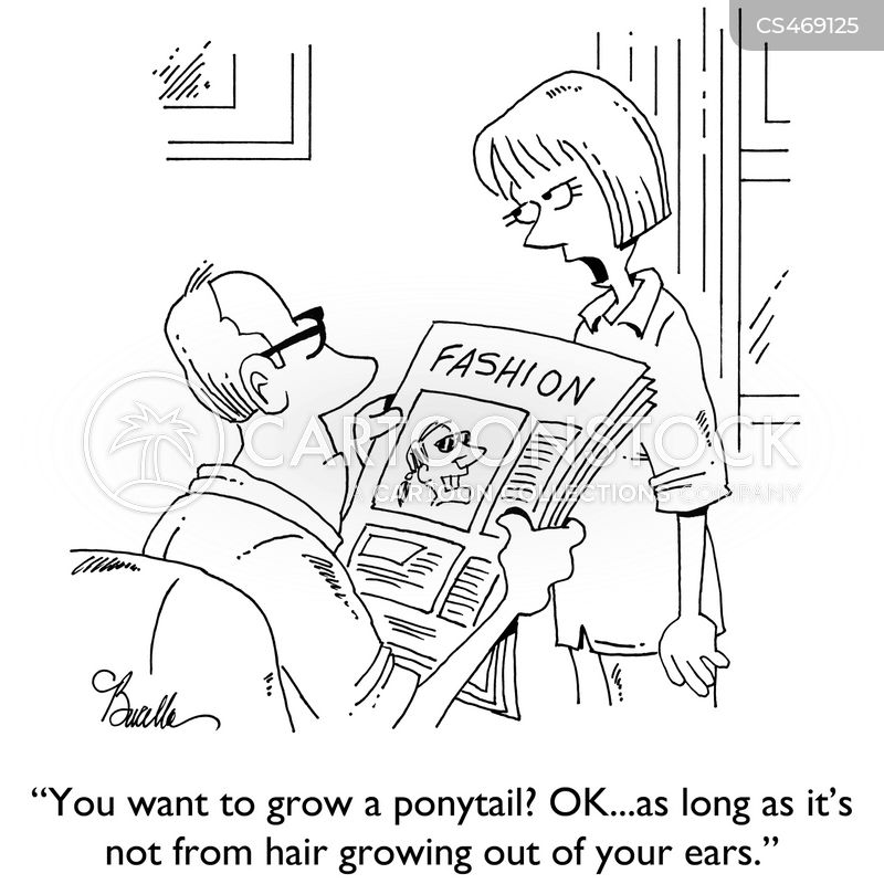 male-grooming cartoon