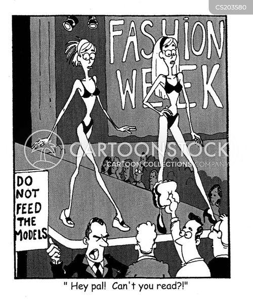 thinness cartoon