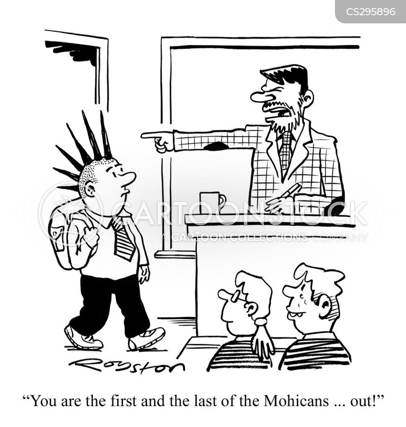 Mohawk Cartoons And Comics Funny Pictures From Cartoonstock
