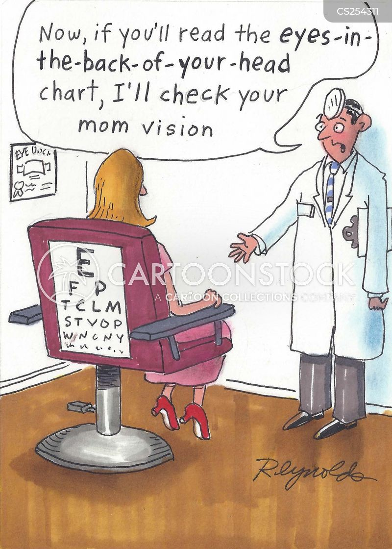 eyesights cartoon