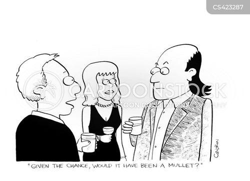 mullets cartoon