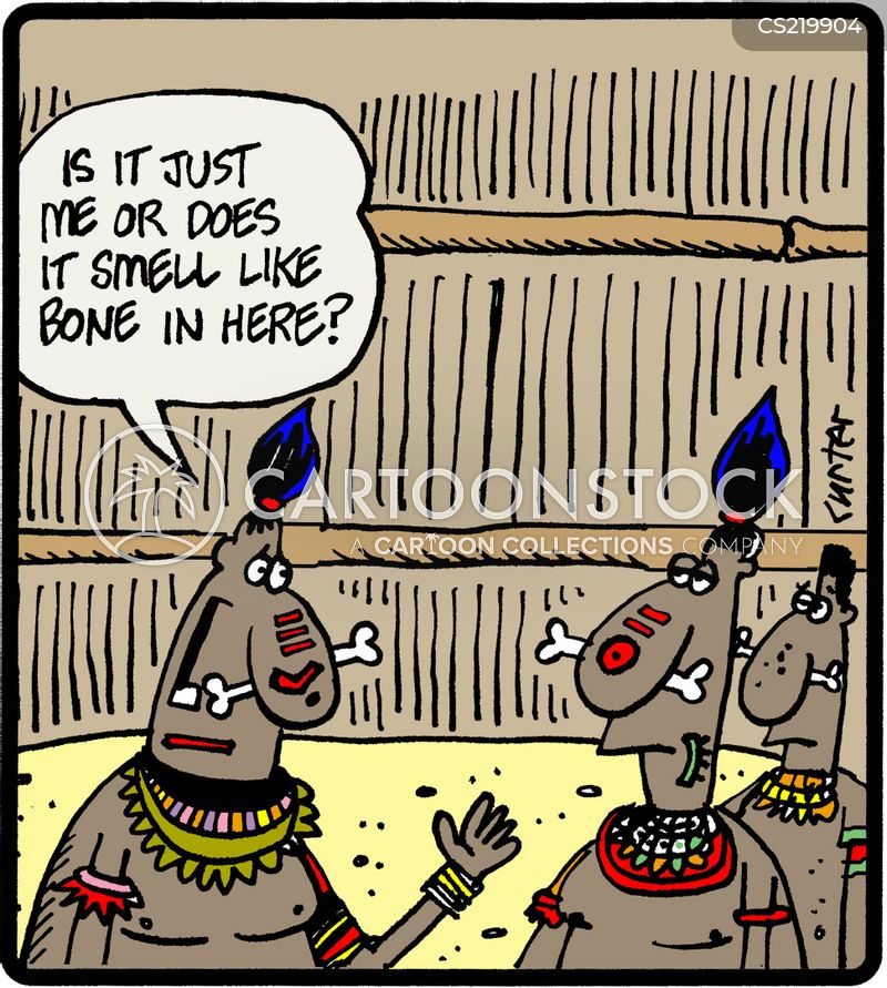 tribal cartoon