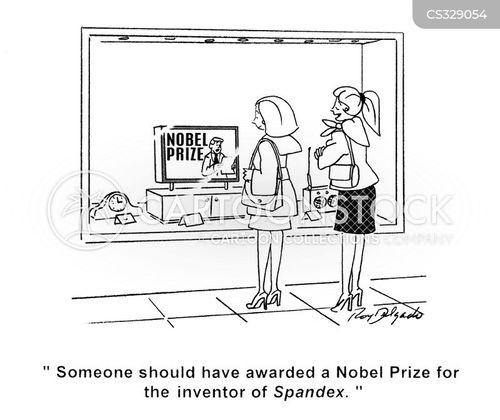 nobel cartoon