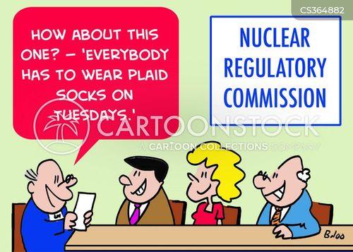 nuclear regulatory commission cartoon