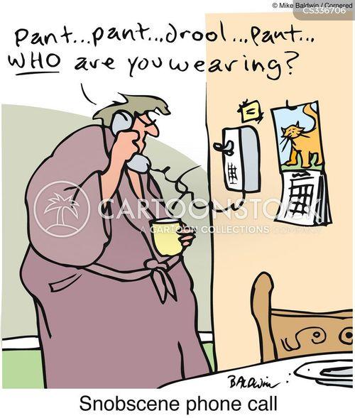 obscene phone call cartoon