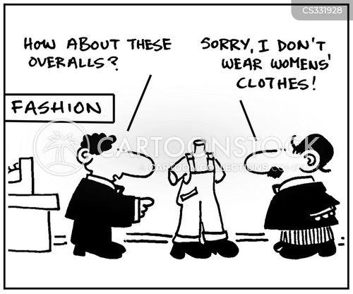 overall cartoon