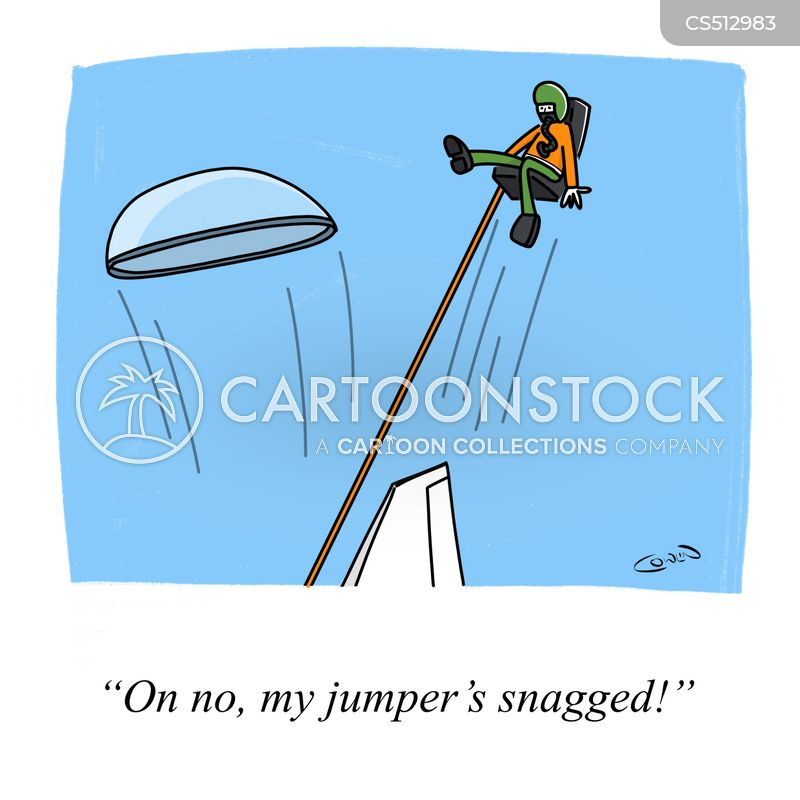 ejector seats cartoon