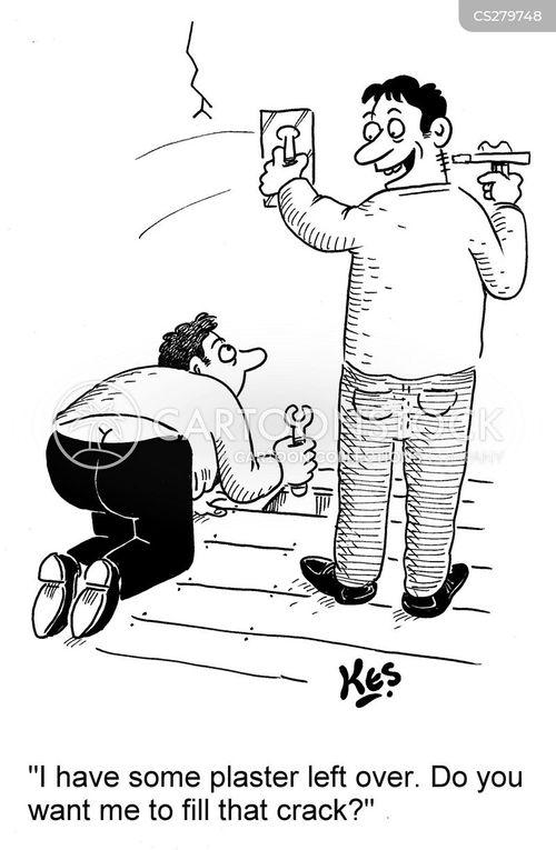tradesmen cartoon