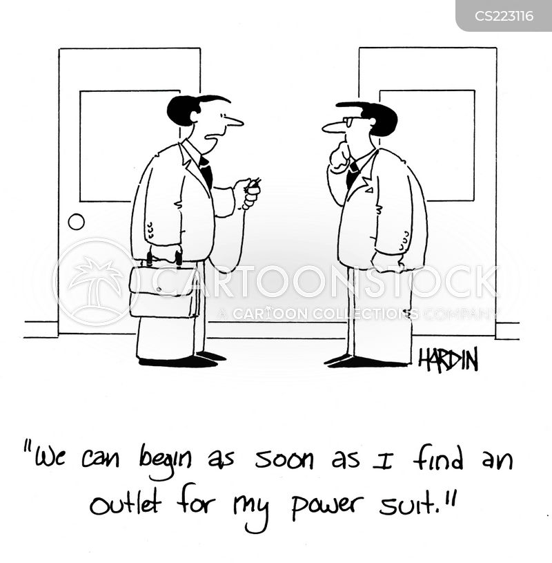 power outlet cartoon