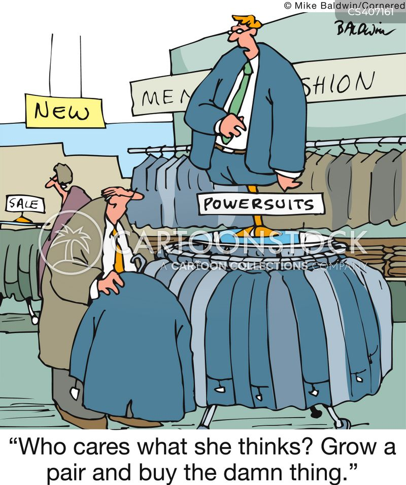 power suit cartoon