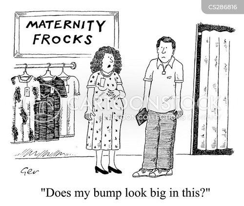 maternity dress cartoon