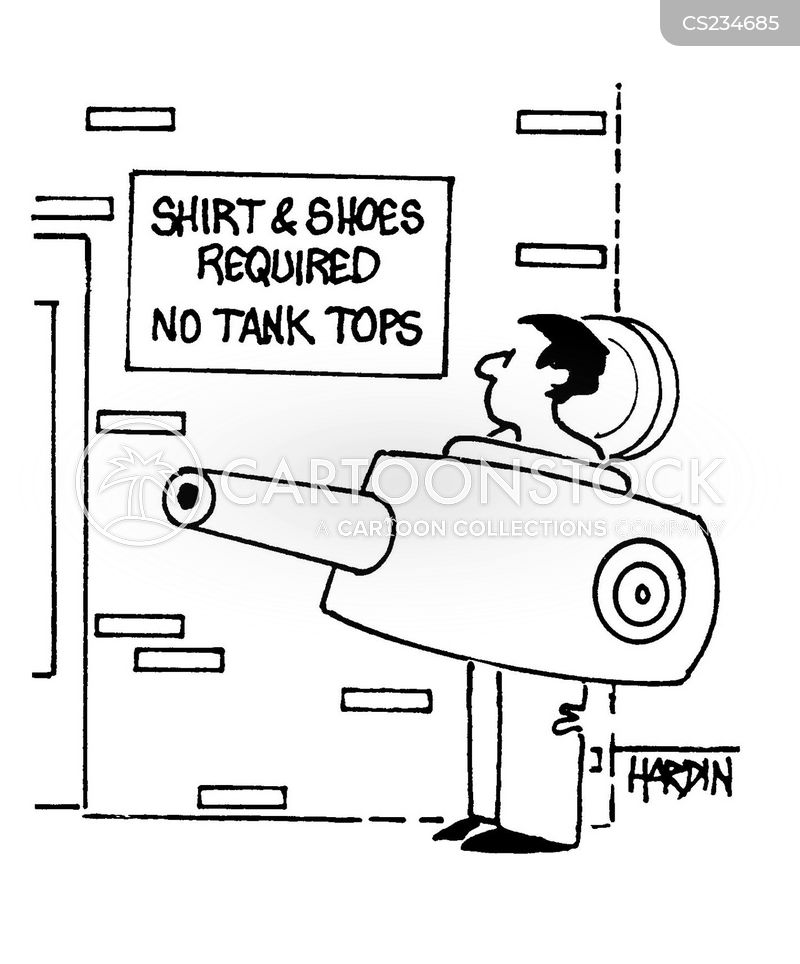 tank top cartoon