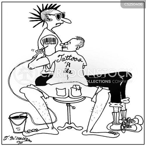 tattooer cartoon