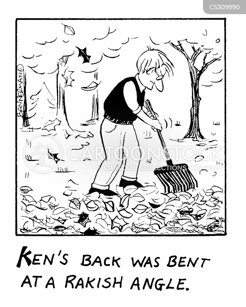 bent cartoon