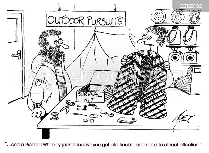 outdoor pursuits cartoon