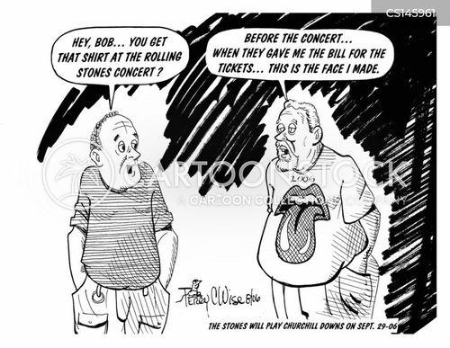 jagger cartoon