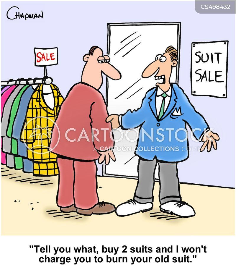 mens clothing cartoon