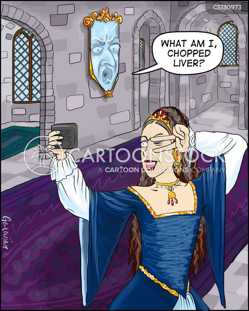 magic mirror cartoon