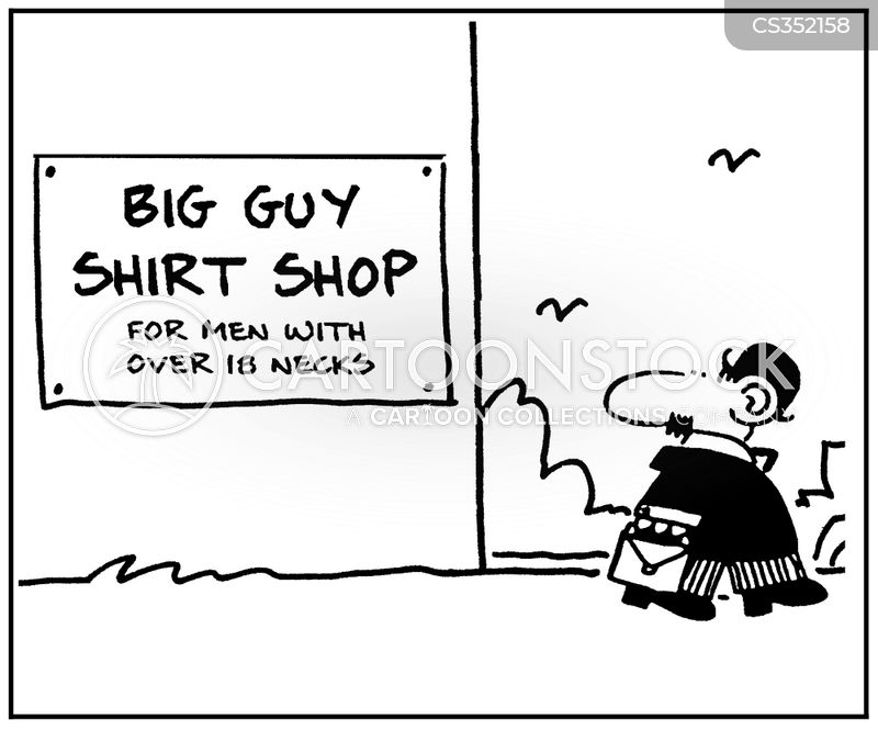 fashion store cartoon