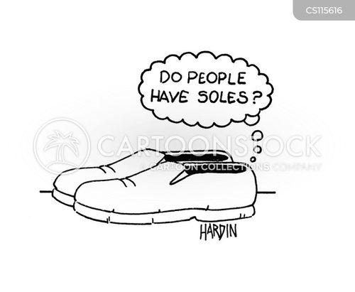 sole cartoon