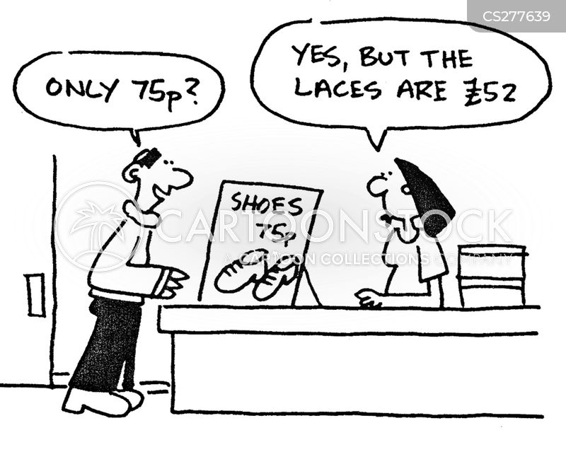 discount rate cartoon