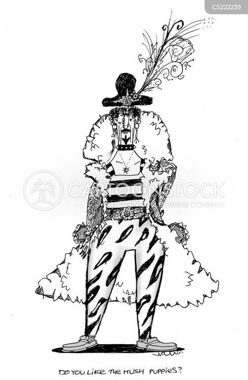bad dress cartoon
